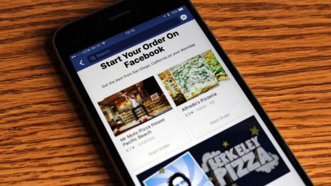 Facebook Sorprende al mundo con entrega de comida