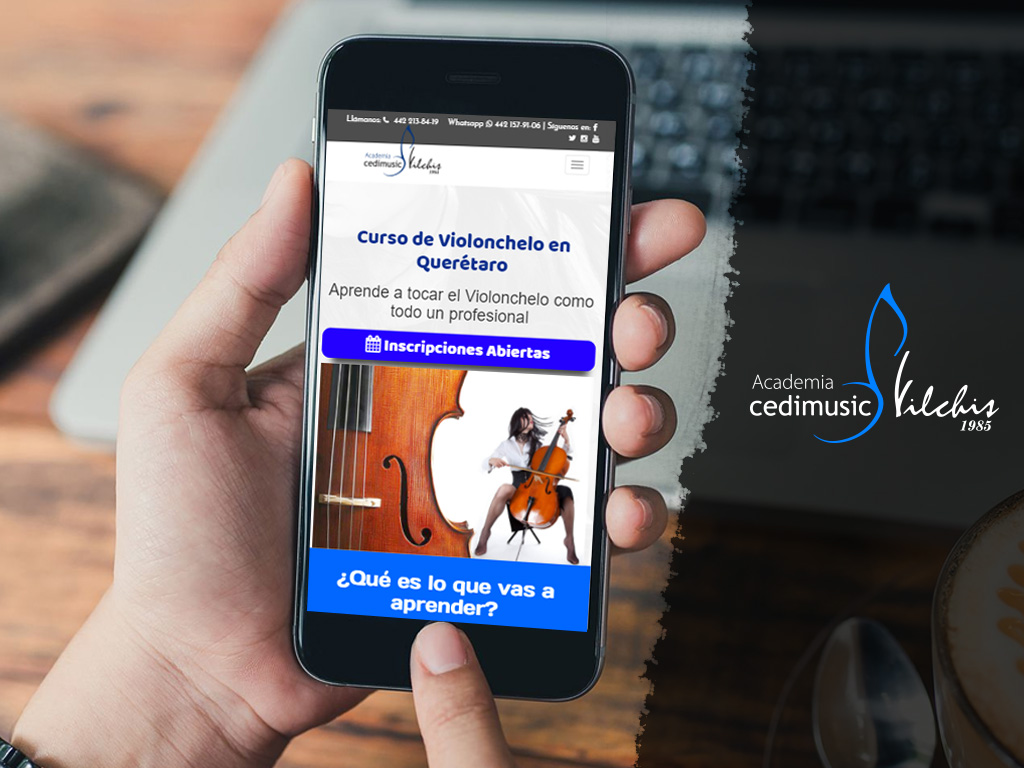 Página Web Smartphone Vilchis
