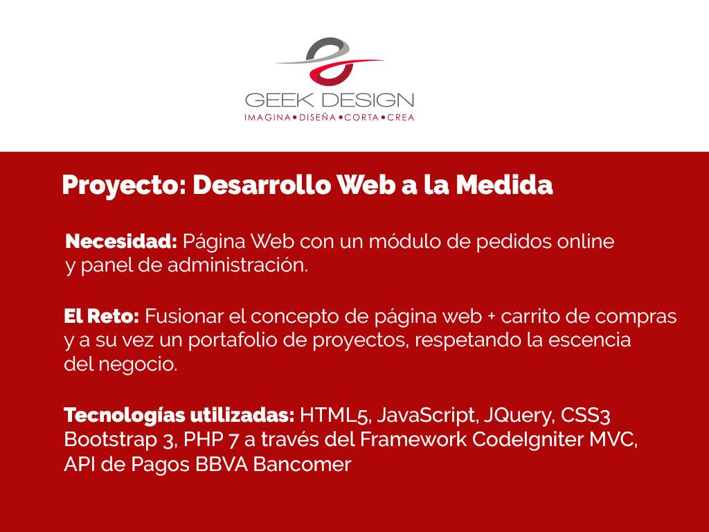 Proyecto GeekDesign